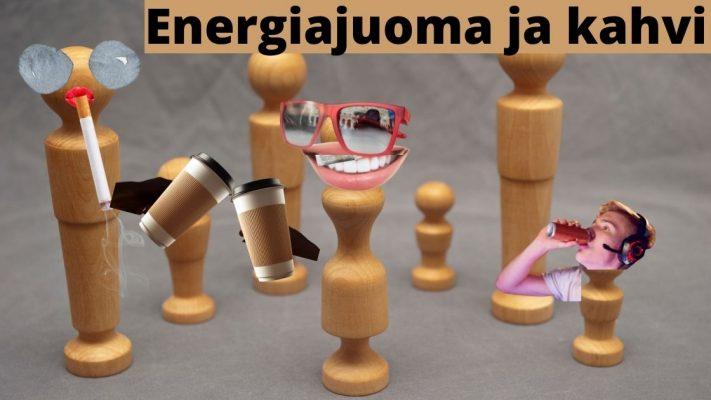 Energiajuomat vs kahvi